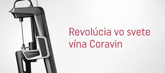 Revolúcia vo svete vína Coravin