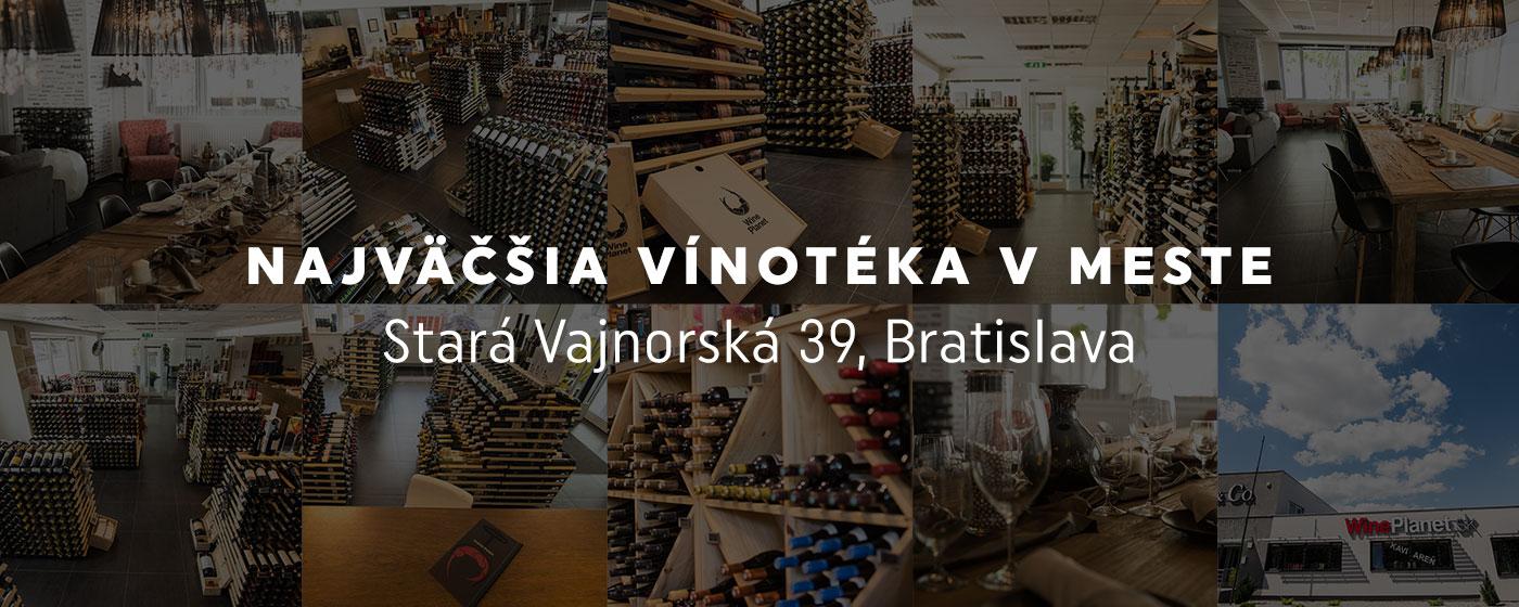 0b1e38578 Najväčšia predajňa vína - Vínotéka WinePlanet
