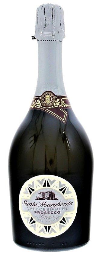 Santa Margherita Prosecco di Valdobbiadene Superiore Extra Dry 0,75L, DOCG, skt, bl, exdry