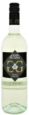 Giorgio & Gianni Pinot Grigio 0,75L, IGT, r2019, bl, su, sc