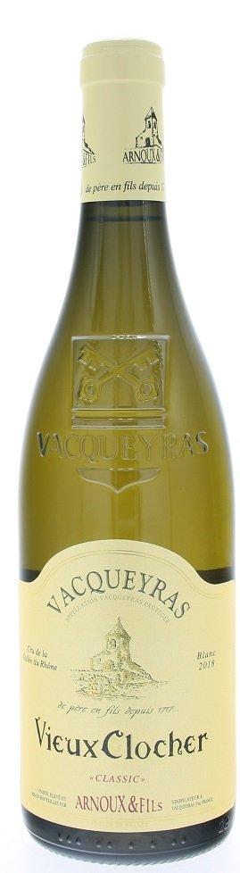 Arnoux & Fils Vieux Clocher, Vacqueyras Classic Blanc 0,75L, AOC, r2018, bl, su