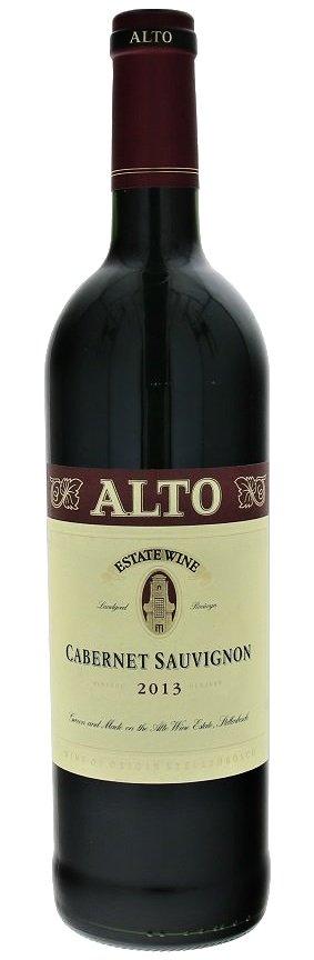 Alto Cabernet Sauvignon 0,75L, r2013, cr, su