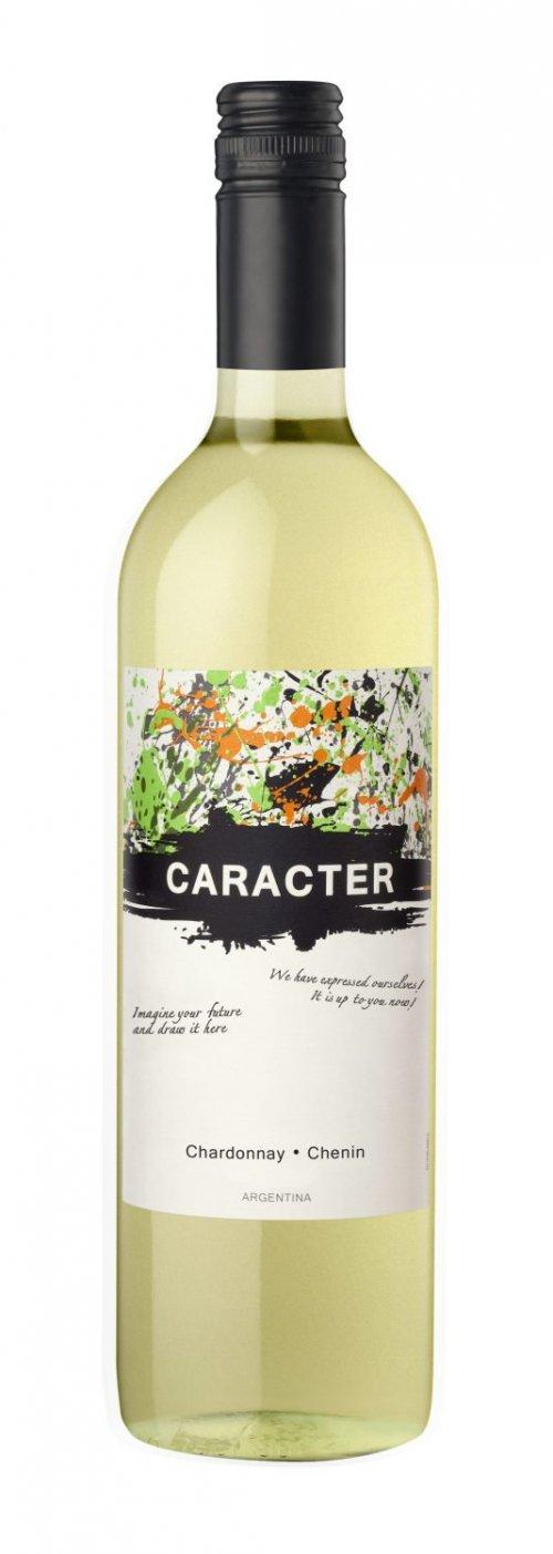 Santa Ana Caracter Chenin - Chardonnay 0,75L, r2018, bl, su