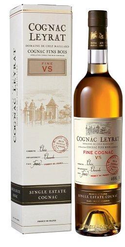Leyrat Cognac VS Fine 40% 0,7L, cognac, DB