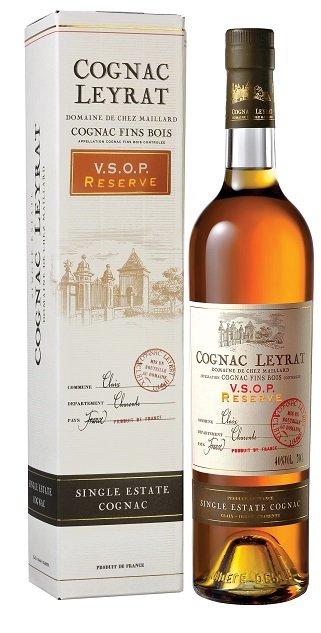 Leyrat Cognac VSOP Premium 40% 0,7L, cognac, DB