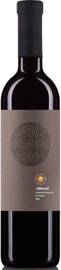 Karpatská Perla Alibernet 0,75L, r2015, vin, cr, su
