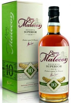 Malecon Reserva Superior 10YO 40% 0,7L, rum, DB