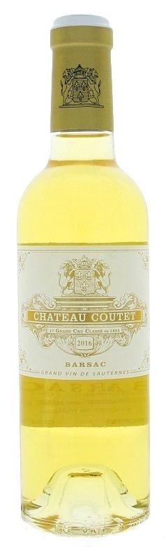 Bordeaux Château Coutet Sauternes-Barsac 0,375L, AOC, Grand Cru Classé, r2016, bl, sl