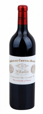 Bordeaux Château Cheval Blanc 0,75L, AOC, Premier Grand Cru Classé, r2007, cr, su