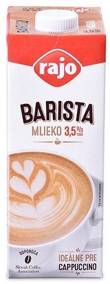 Rajo Mlieko UHT Barista 3,5%  1,0L