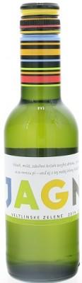 Karpatská Perla Jagnet Mini Veltlínske zelené 0,25L, r2019, vin, bl, su, sc