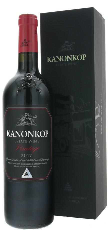 Kanonkop Pinotage Black Label 0,75L, r2017, cr, su, DB