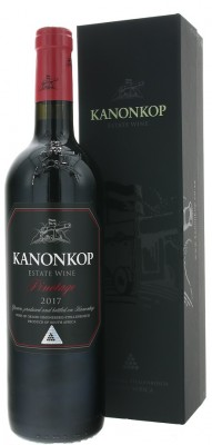 Kanonkop Pinotage Black Label 0,75L, r2017, cr, su, DB