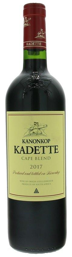 Kanonkop Kadette Cape Blend 0,75L, r2017, cr, su
