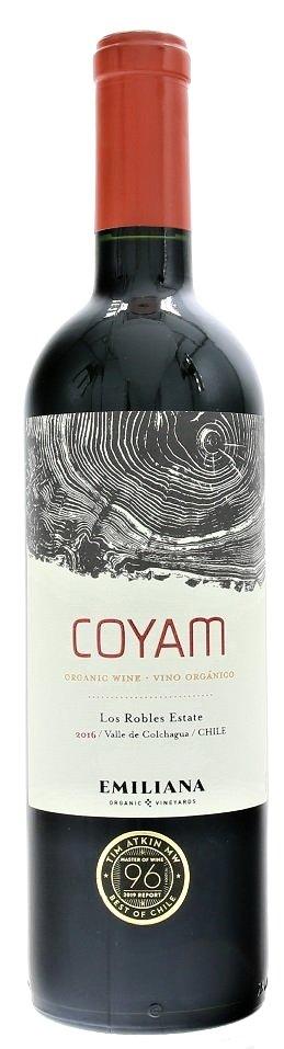 Emiliana Coyam BIO 0,75L, r2016, cr, su