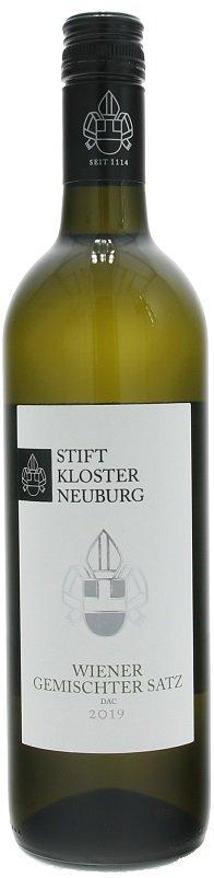 Stift Klosterneuburg Wiener Gemischter Satz, DAC 0,75L, PDO, r2019, bl, su, sc