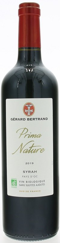 Gérard Bertrand Prima Nature Syrah, BIO 0,75L, IGP, r2019, cr, su
