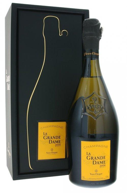 Veuve Clicquot Ponsardin La Grande Dame Brut 0,75L, AOC, r2008, sam, bl, brut, DB