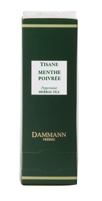 Dammann Fréres Sachets Menthe Poivrée - Mäta / Peppermint 24 x 1,2 g,  5681,bylcaj, krsac HB