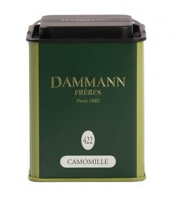 Dammann Fréres La Boite Camomille, N°422, 35 g, 1090,bylcaj, plech