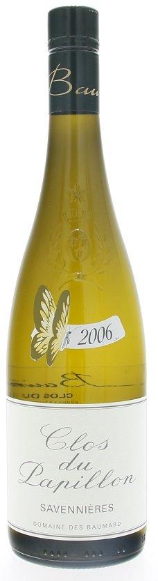 Domaine des Baumard Clos du Papillon Savennieres 0,75L, AOC, r2006, bl, su