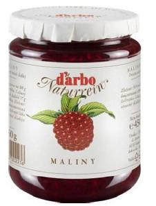 D´arbo Malinový džem 450g,sklo pohár