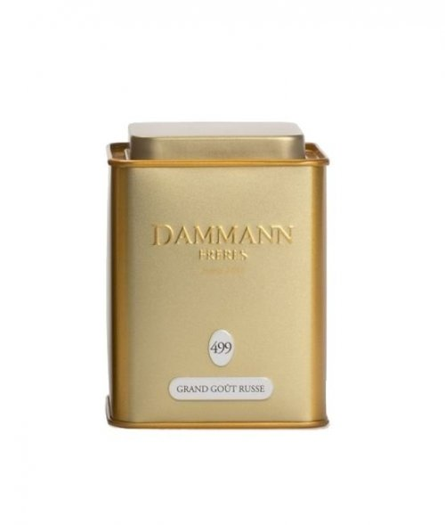 Dammann Fréres La Boite Grand Gout Russe N°499, 100 g,  4744,ciercaj, plech