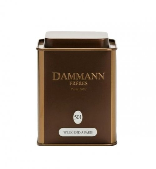 Dammann Fréres La Boite Week-end a Paris N°501, 100 g, 4745,oolong, plech