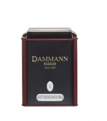 Dammann Fréres La Boite Gout Russe Douchka N°1, 100 g, 6746,ciercaj, plech