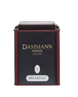 Dammann Fréres La Boite Breakfast N°6, 100 g,  6751,ciercaj, plech