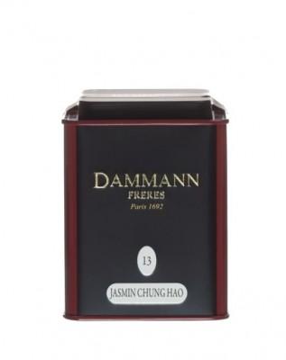 Dammann Fréres La Boite Jasmin Chung Hao N°13, ochutený, 100 g, 6758,zelcaj, plech