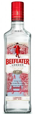 Beefeater London dry gin 40% 0,7L, gin