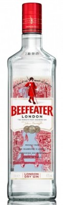 Beefeater London dry gin 40% 1L, gin