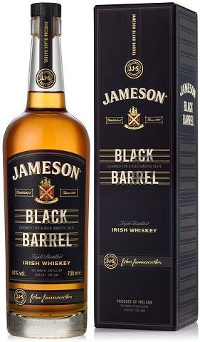 Jameson Black Barrel 40% 0,7L, whisky, DB
