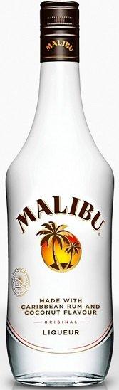 Malibu likér 21% 0,7L, liker