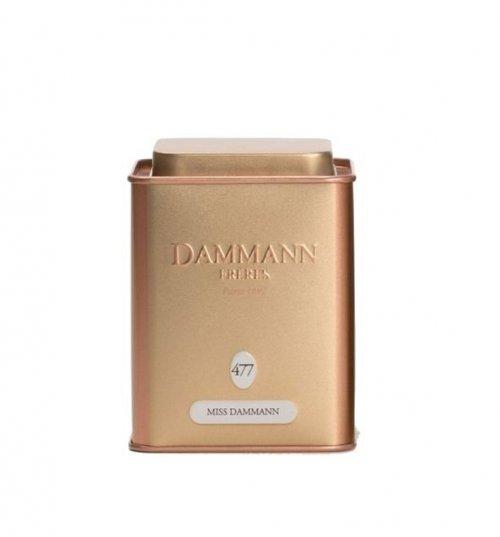 Dammann Fréres La Boite Miss Dammann N°477, 100 g  4743,zelcaj, plech