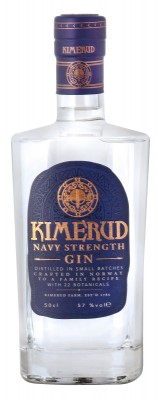 Kimerud Navy Strength Gin 57% 0,5L, gin
