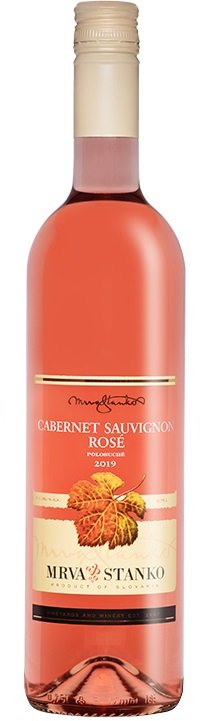 Mrva & Stanko Cabernet Sauvignon rosé, Jasová 0,75L, r2019, vin, ruz, plsu, sc