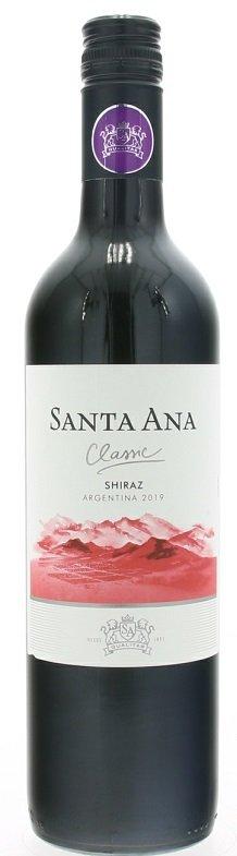 Santa Ana Shiraz 0,75L, r2019, cr, su