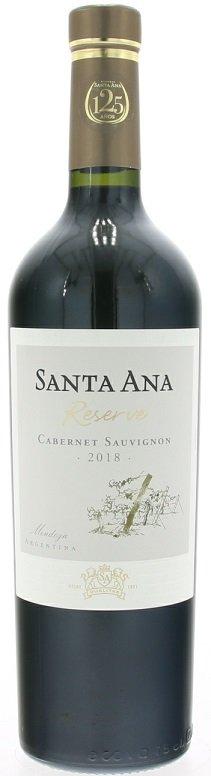 Santa Ana Reserve Cabernet Sauvignon 0,75L, r2018, cr, su