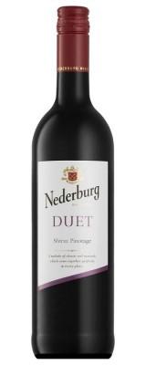 Nederburg Duet Shiraz Pinotage 0,75L, r2018, cr, su, sc