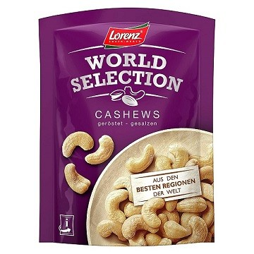 Lorenz Cashews Kešu oriešky 100 g