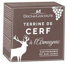 Ducs de Gascogne Jelenia terina s Armagnacom 65 g,plech