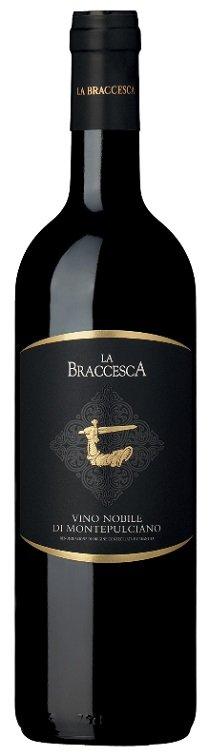 La Braccesca Vino Nobile di Montepulciano 0,75L, DOCG, r2017, cr, su