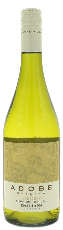 Emiliana Adobe Chardonnay BIO 0,75L, r2019, bl, su