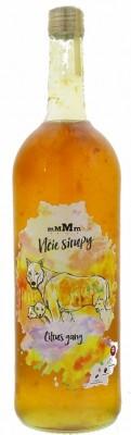 mMMm - Vlčie sirupy Citrus gang 1L, sirup