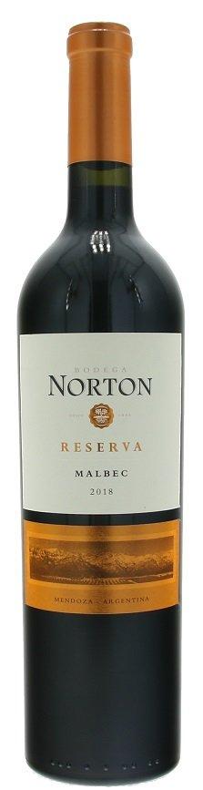 Norton Reserva Malbec 0,75L, r2018, cr, su