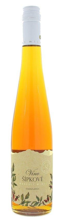 Miluron Šípkové víno 0,5L, ovvin, ruz, sl, sc