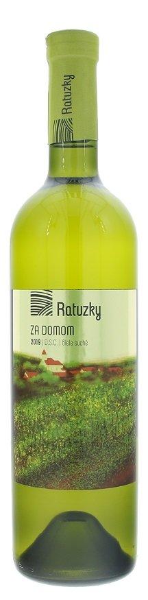 Vinárstvo Ratuzky Cuvée Za domom 0,75L, r2019, vin, bl, su