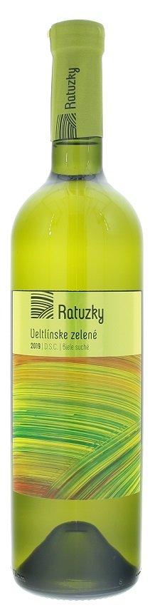 Vinárstvo Ratuzky Veltlínske zelené 0,75L, r2019, vin, bl, su
